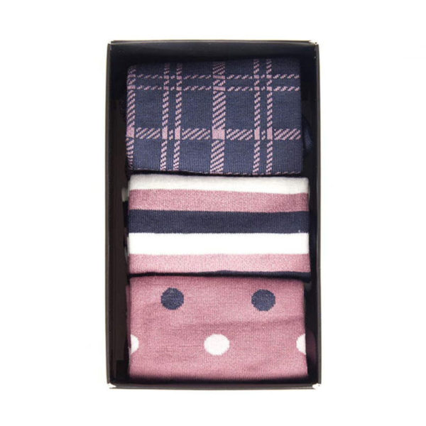 Barbour Womens Spot Stripe Sock Set