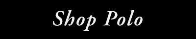Shop Polo White on Black Banner