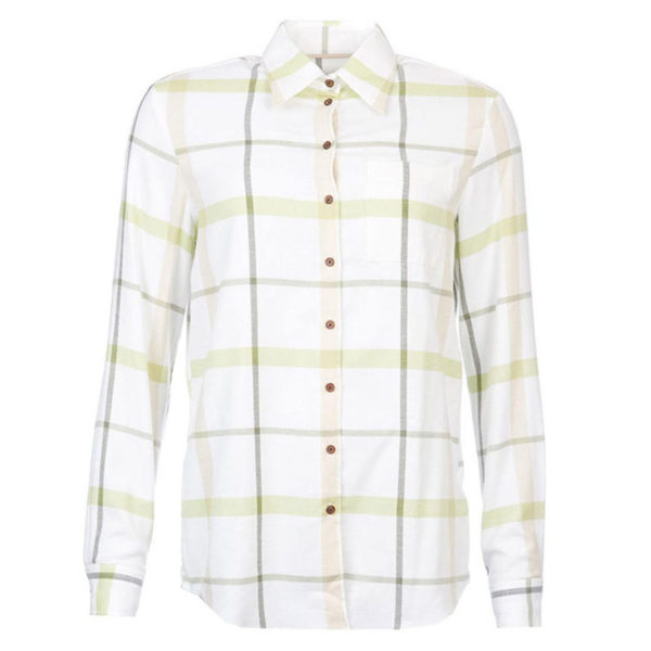 Barbour Womens Oxer Shirt Green
