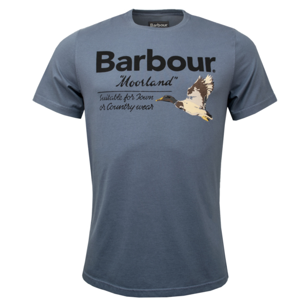 Barbour Country Duck T-Shirt Dark Chambray