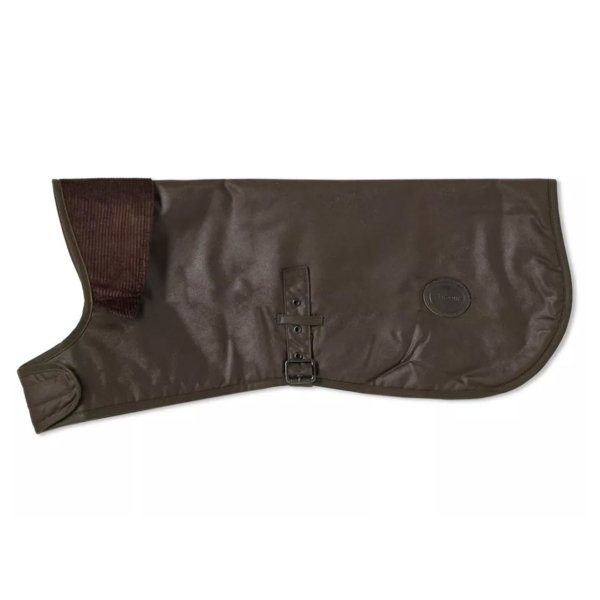 Barbour Dog Coat Mat Wax Olive