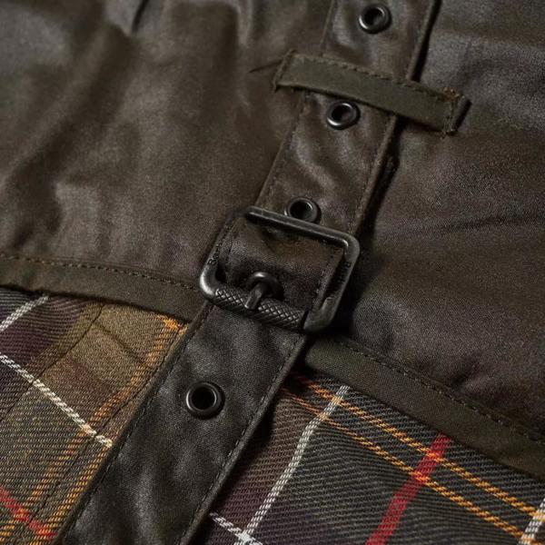 Barbour Dog Coat Mat Wax Olive