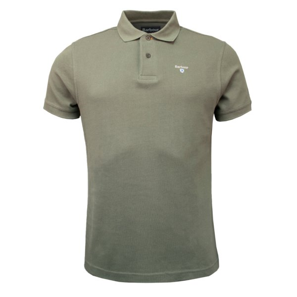 Barbour Sports Polo Agave Green
