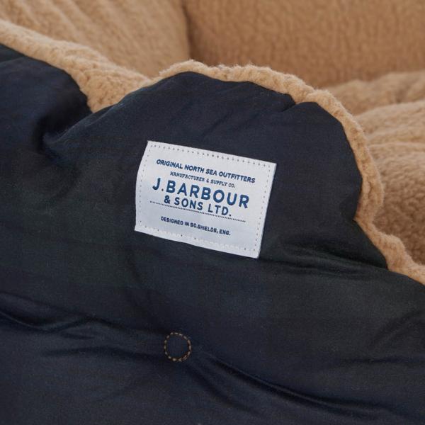 "Barbour Tartan Dog Bed 30"" Black Watch"