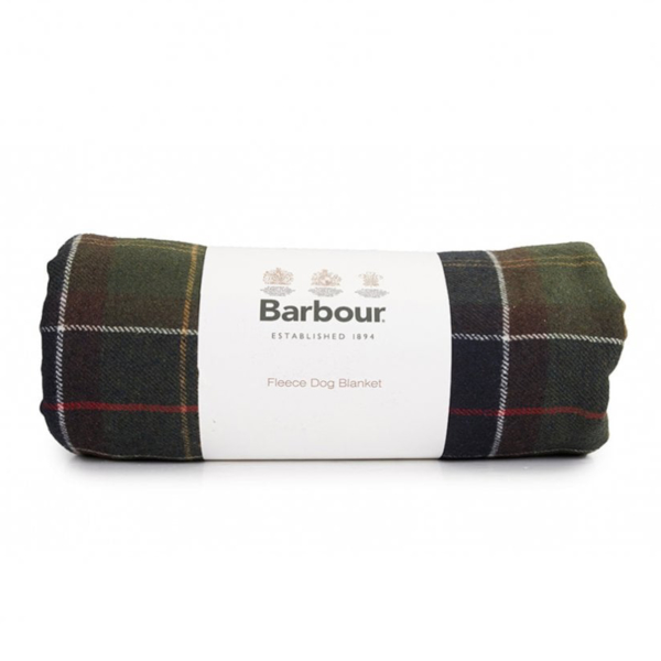 Barbour Tartan Medium Dog Blanket Classic Tartan