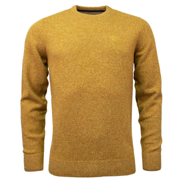 Barbour Tisbury Crew Neck Sweater Copper