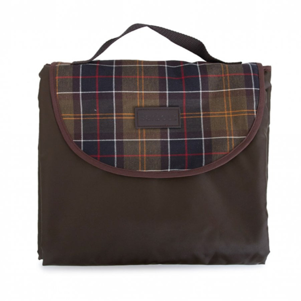 Barbour Travel Dog Blanket Olive