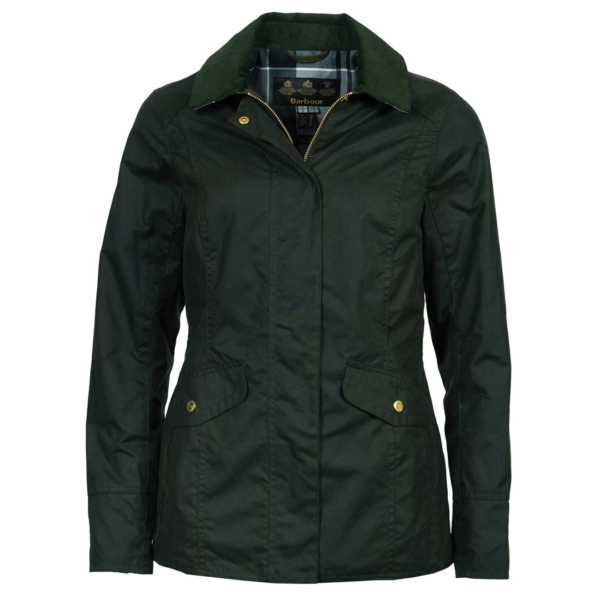 Barbour Womens Glen Wax Jacket Sage