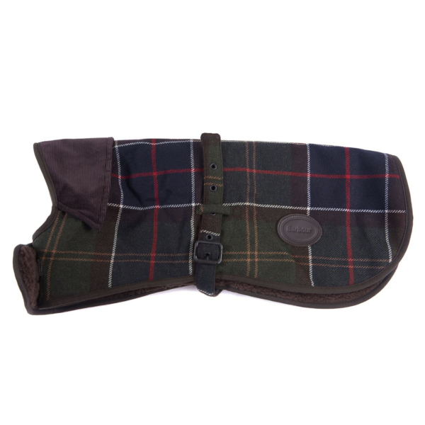 Barbour Wool Dog Coat Classic Tartan