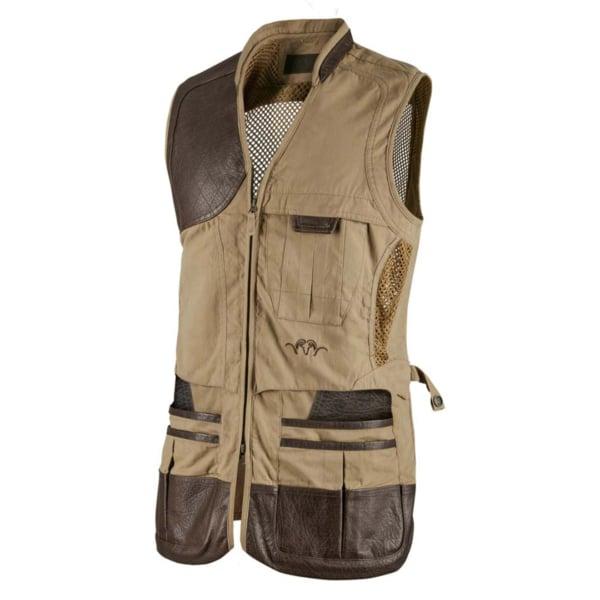 Blaser Parcours Shooting Vest - Right - Camel