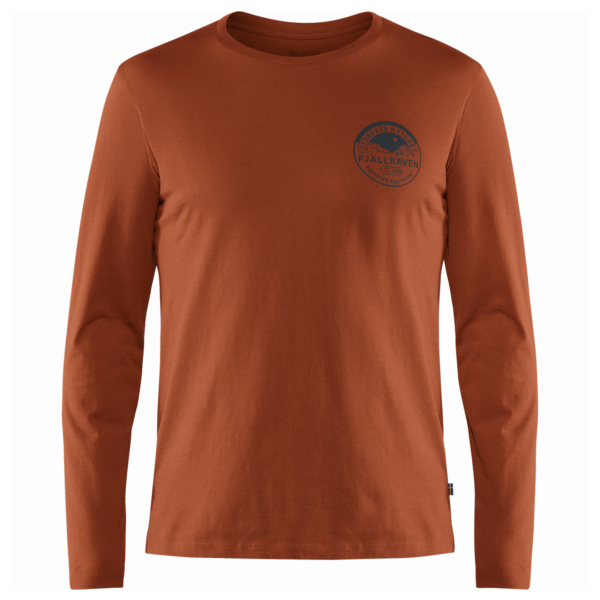 Fjallraven Forever Nature Badge LS T-Shirt Autumn Leaf