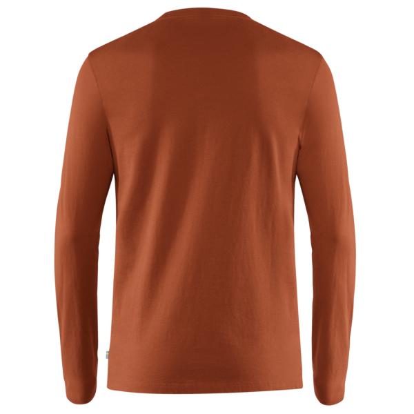Fjallraven Forever Nature Badge LS T-Shirt Autumn Leaf