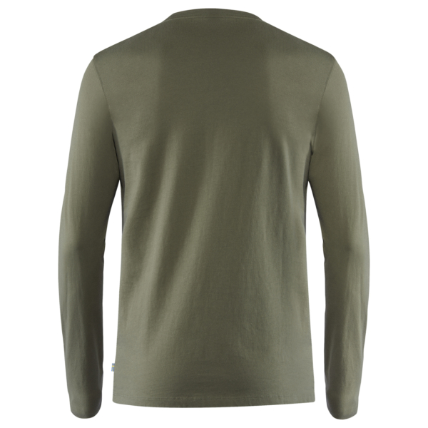 Fjallraven Forever Nature Badge LS T-Shirt Tarmac
