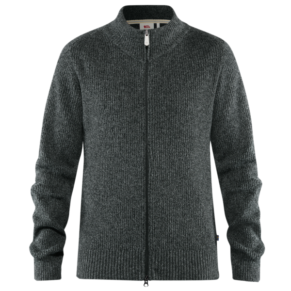 Fjallraven Greenland Re-Wool Cardigan Dark Grey