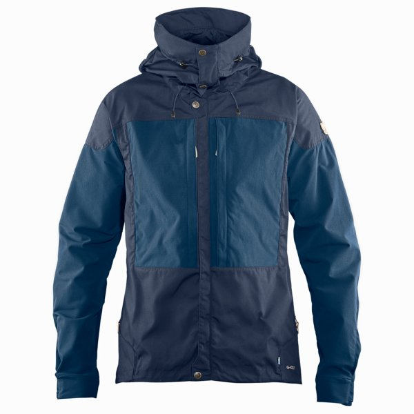 Fjallraven Keb Jacket Dark Navy / Uncle Blue