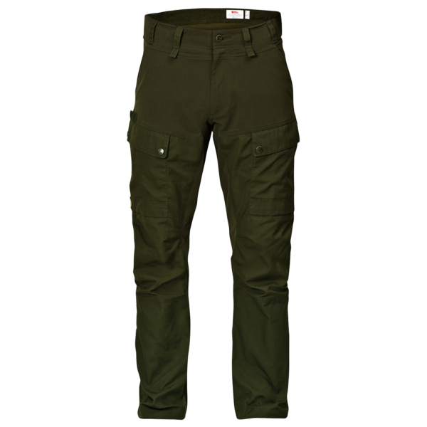 Fjallraven Lappland Hybrid Trousers Deep Forest
