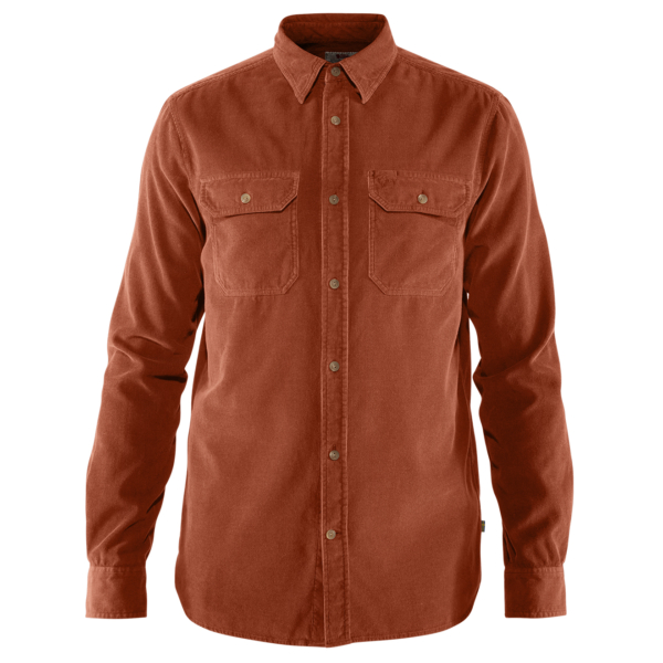 Fjallraven Ovik Cord Shirt Autumn Leaf
