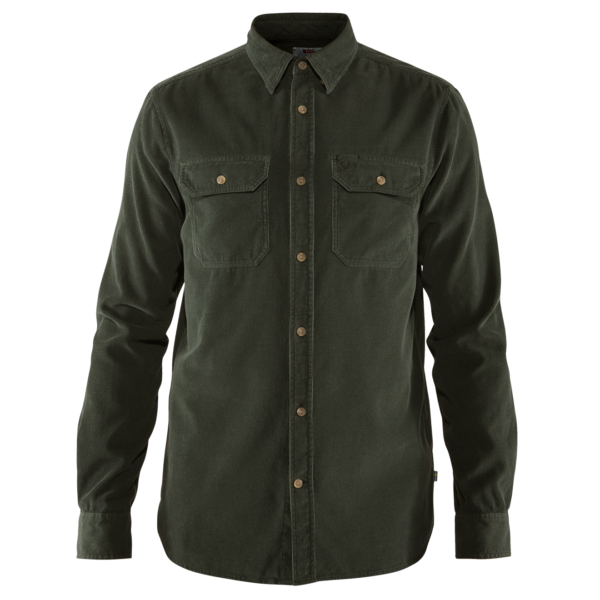 Fjallraven Ovik Cord Shirt Deep Forest