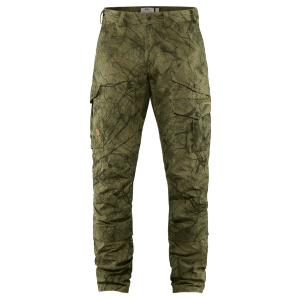 Fjallraven Pro Hunting Trousers Green Camo / Deep Forest