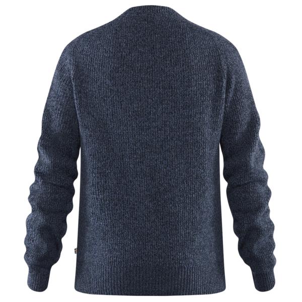 Fjallraven Re-Wool Crew Neck Sweater Dark Navy