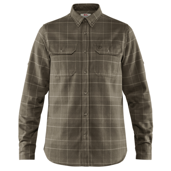 Fjallraven Singi Heavy Flannel Shirt Dark Olive