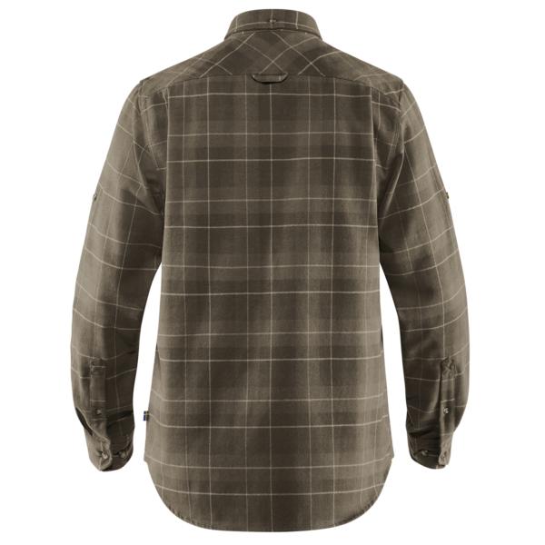 Fjallraven Singi Heavy Flannel Shirt Dark Olive