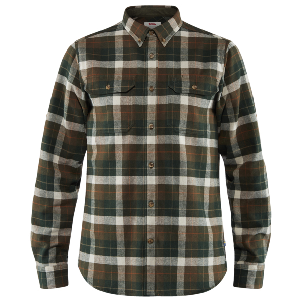 Fjallraven Singi Heavy Flannel Shirt Deep Forest