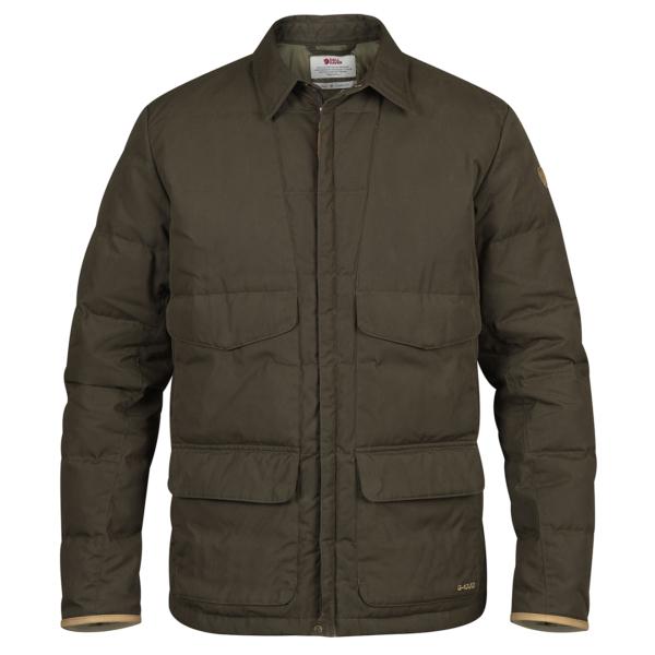 Fjallraven Sormland Down Shirt Jacket Dark Olive