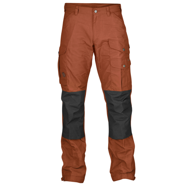 Fjallraven Vidda Pro Trousers Regular Autumn Leaf / Stone Grey