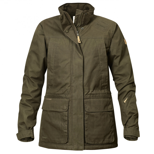 Fjallraven Womens Brenner Pro Padded Jacket Dark Olive