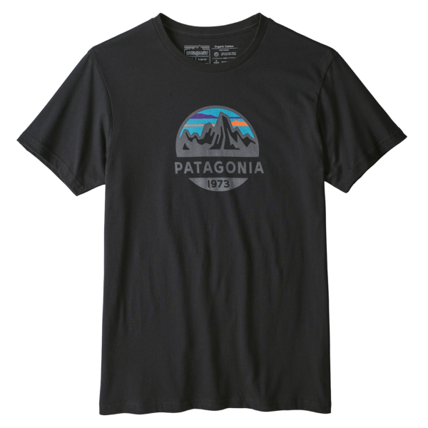 Patagonia Fitz Roy Scope Organic T-Shirt Black