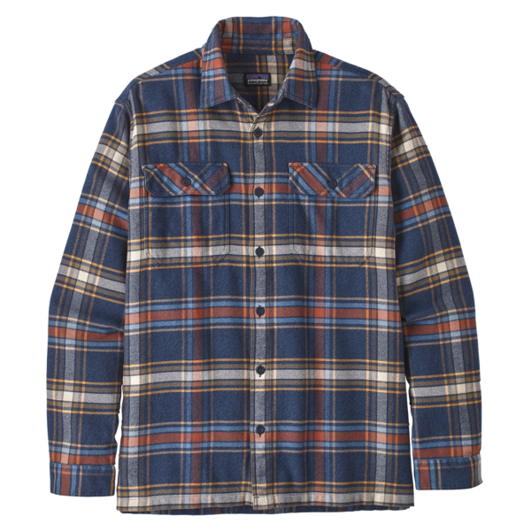 Patagonia Fjord Flannel Shirt Defender New Navy