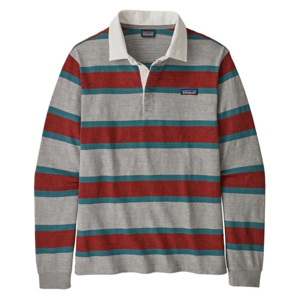 Patagonia LS Lightweight Rugby Shirt Drifter Grey