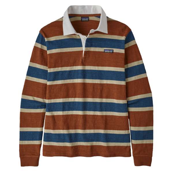 Patagonia LS Lightweight Rugby Shirt Sisu Brown