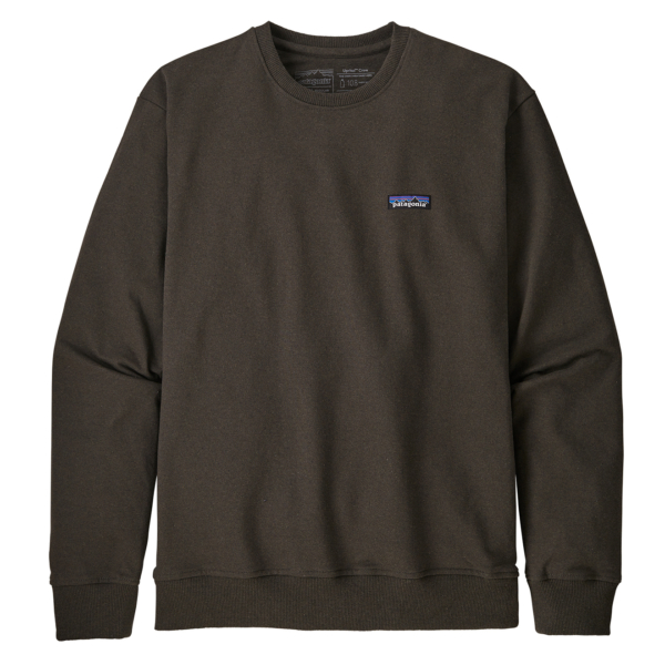 Patagonia P-6 Label Uprisal Crew Sweatshirt Logwood Brown