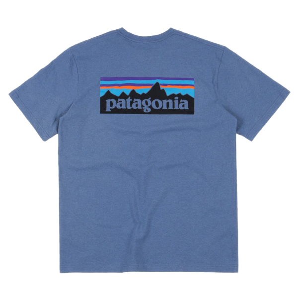 Patagonia P-6 Logo Responsibili-Tee Woolly Blue