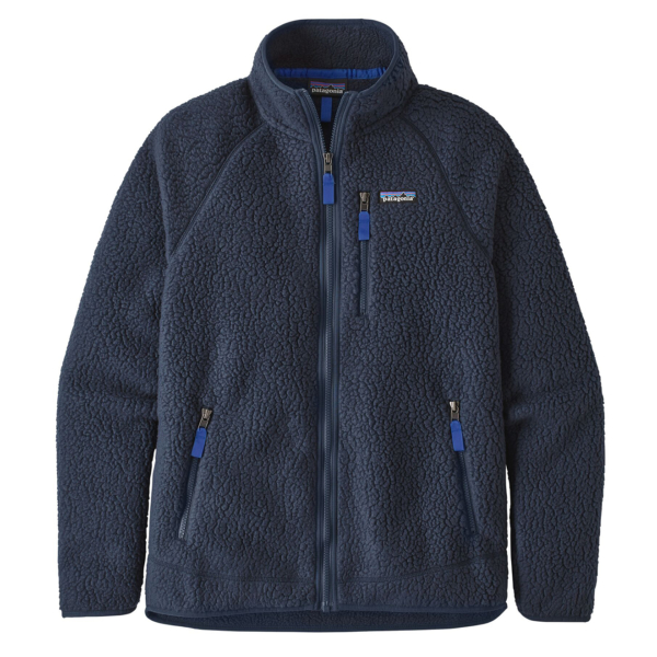 Patagonia Retro Pile Fleece Jacket New Navy