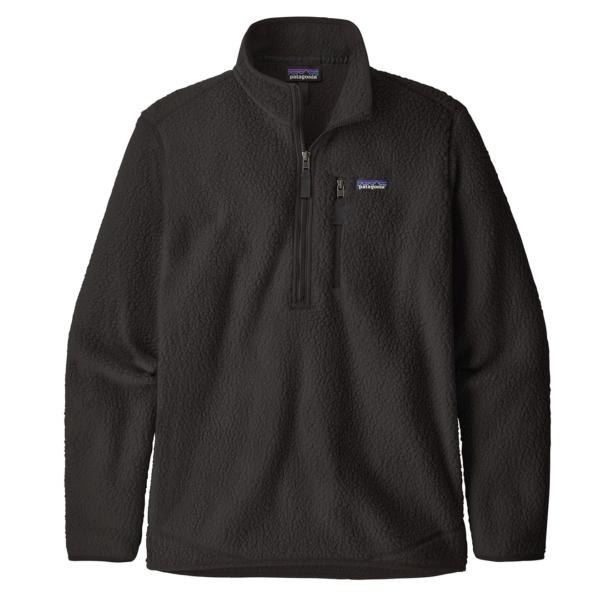 Patagonia Retro Pile Fleece Pullover Black