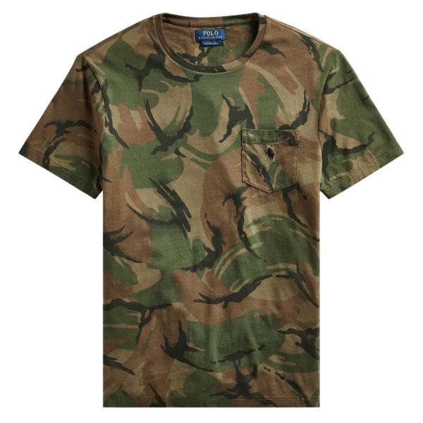 Polo Ralph Lauren Camo T-Shirt Camo Multi