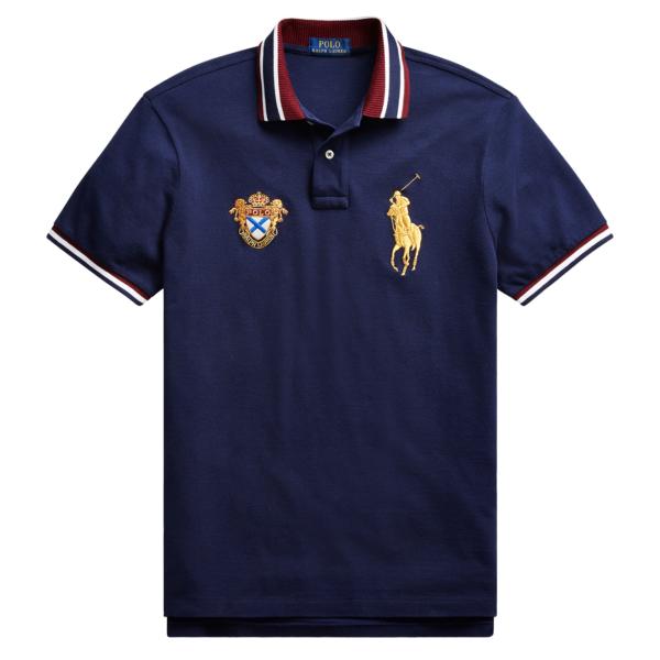 Polo Ralph Lauren Crest Polo Shirt Navy