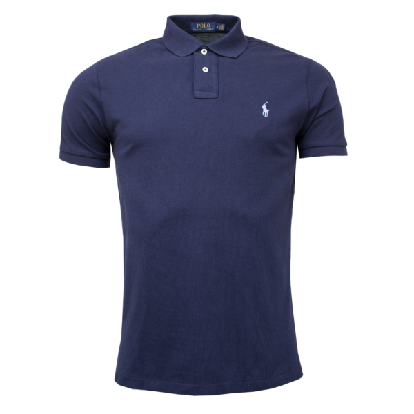 Polo Ralph Lauren Custom Slim Fit Polo Navy