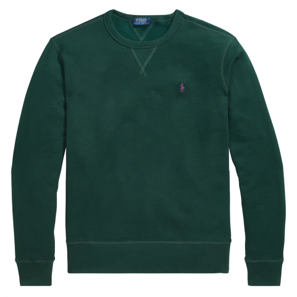 Polo Ralph Lauren Fleece Crew Sweatshirt College Green