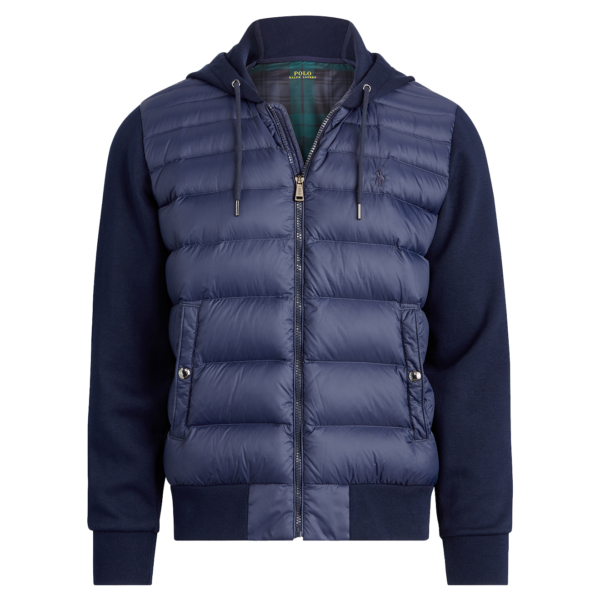 Polo Ralph Lauren Hybrid Down Hoodie Cruise Navy