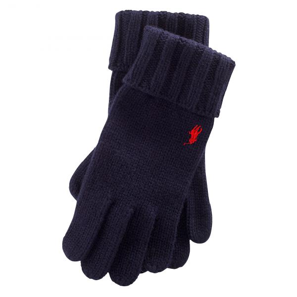 Polo Ralph Lauren Merino Gloves Navy