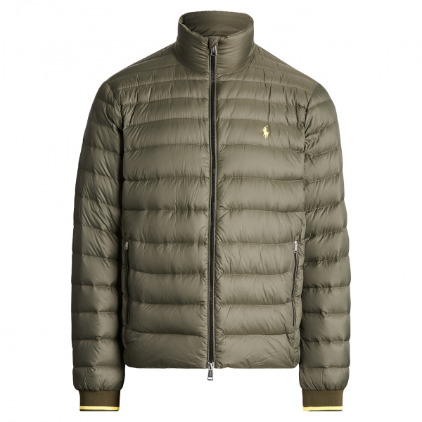Polo Ralph Lauren Packable Quilted Down Jacket Green