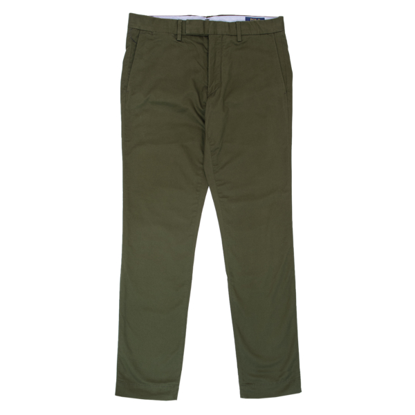 Polo Ralph Lauren Stretch Slim Fit Cotton Chino Company Olive