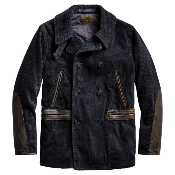 RRL by Ralph Lauren Jackson Limited Edition Peacoat Black Indigo