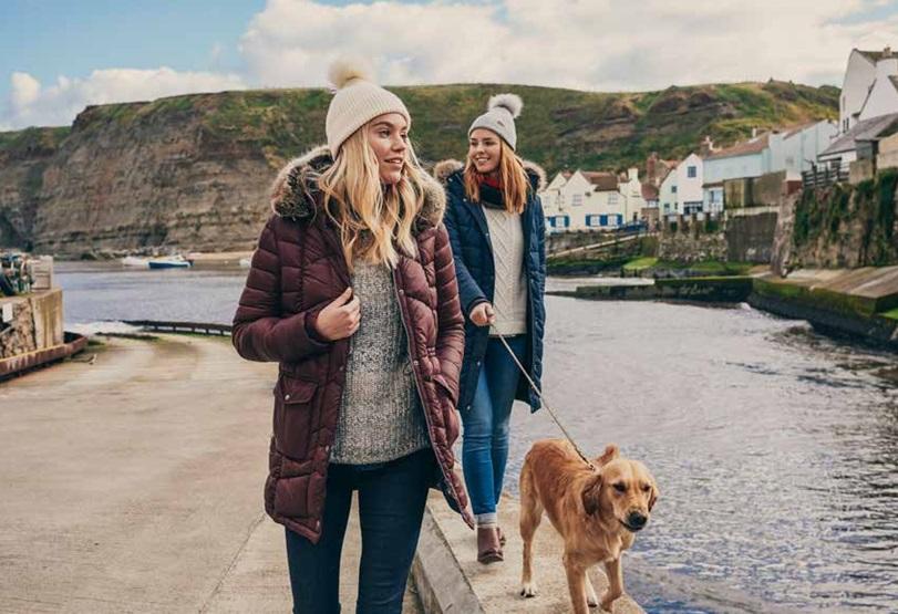 Barbour Coats Coastal Walk