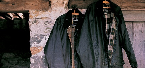 Traditional Barbour Wax Jackets