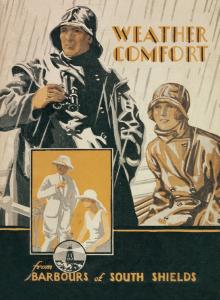 Barbour Weather Comfort Vintage Advertisement